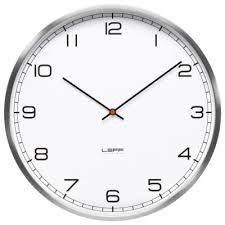 One Wall Clock Arabic Dial By LEFF Amsterdam At Lumenscom - Modern designer wall clocks