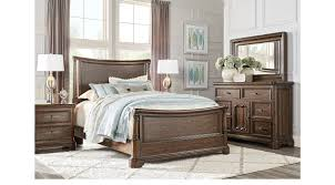 notting hill cherry 5 pc queen sleigh bedroom traditional