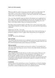 resume email cover letter samples eliolera com