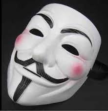 Halloween Costume 2pcs Vendetta Anonymous Movie Guy Men Mask Halloween