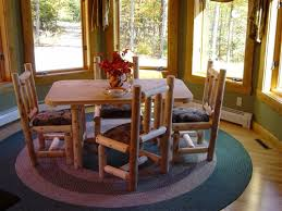 Log Dining Room Table Log Dining Room Furniture Rustic Dining Furniture