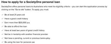 how much do you need to earn to get a personal loan finder com au