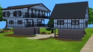 sims 4 speed build tudor house youtube