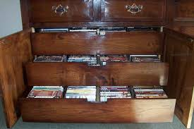 Cd Cabinet With Drawers Cd Storage Cabinet Oak Home Design Ideas