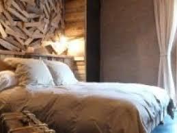 chambre bois flotté deco chambre bois flotte par photosdecoration