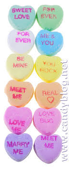 heart candy sayings necco conversation hearts sweethearts 2010 candy