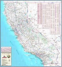 California Arizona Map by California Roadways State Reference Map From Compart