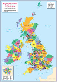 uk map with counties states