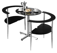 compact table and chairs premier housewares love dining table and chair set round shaped