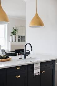 black kitchen cabinets with black hardware black kitchen cabinets gold hardware design ideas
