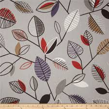 home decor weight fabric screen printed on cotton duck this versatile medium weight fabric