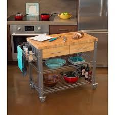 island kitchen cart butcher block island kitchen cart stainless steel wood table