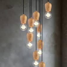 Pendant Light Cord Vintage Pendant Light Oak Wood L Cord The Geometric