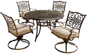 Hanover Patio Furniture Hanover Traditions 5pc Outdoor Dining Set Traditions5pcsw