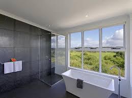 Bathroom Design With Freestanding Bath Using Glass Bathroom - Glass bathroom