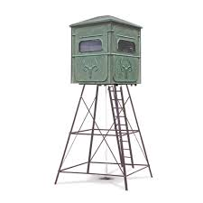 the buck palace 6x6 platinum 360 hunting blind redneck blinds the trophy tower 5x5 platinum blind