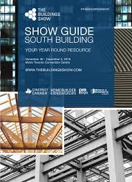 the buildings show 2016 show guide south building by real
