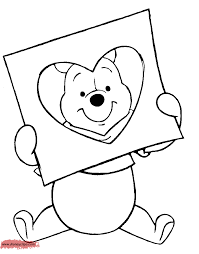 valentines coloring pages disney disney valentine coloring pages