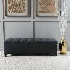 Skyline Furniture Upholstered Storage Bench Bedroom Benches You U0027ll Love Wayfair