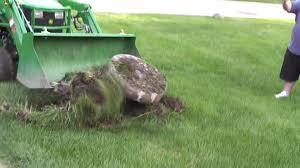 john deere 1025r no backhoe no problem use the loader and