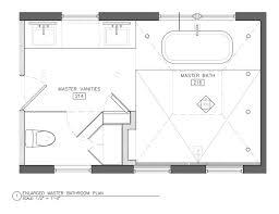 Smallest Bathroom Floor Plan Modren Master Bathroom Floor Plans Home Improvement House
