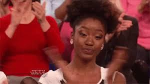 Black Girl Meme Hand - uhhuh clap gif uhhuh clap blackgirlmagic discover share gifs