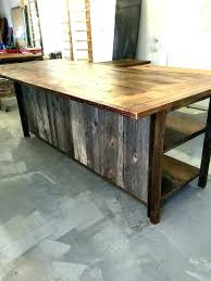reclaimed wood kitchen island wood kitchen island table francecity info