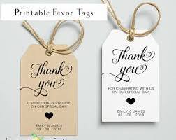wedding gift tags wedding favor tags etsy