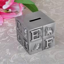 keepsake piggy bank new cube money boxes metal crafts letter tourism keepsake
