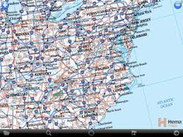 highway map of the united states road map of the east coast map