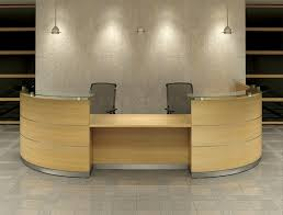 Reception Desk Curved Used Office Furniture Why Invest In A Used Reception Desk