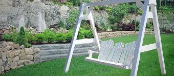 Swing Patio Furniture Porch Swings Patio Furniture Industries