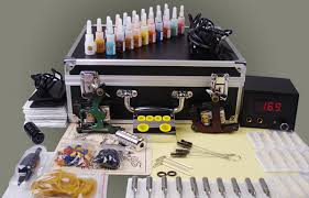tattoo kit without machine complete tattoo kit high quality permanent makeup tattoo machine set