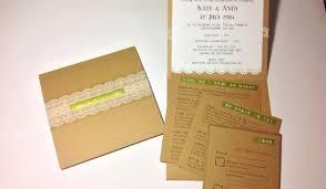 Pocketfold Invitations Diy Tutorial Kraft Pocketfold Invitations Boho Weddings For The