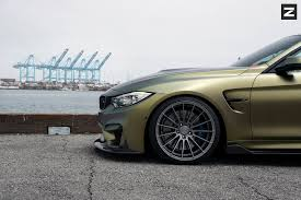matte bmw matte gold starlight bmw m4 stuns on zito wheels gtspirit