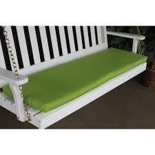 green bench cushion a l furniture sundown agora 68 x 17 in cushion for bench or