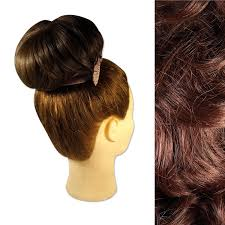 bun accessories clip in drawstring hair bun big 6 medium brown co