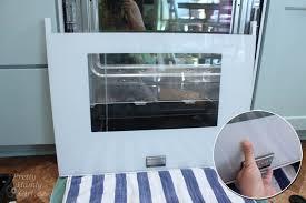 clean oven glass door how to clean inside your oven door pretty handy