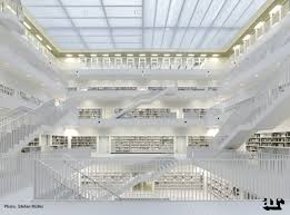 what is included in architectural plans stuttgart city library by yi architects buildings