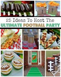 football party ideas 25 easy ideas to host the ultimate football party superbowl