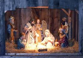 christmas manger finding christmas peace after divorce single smiling