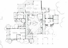 house u shaped house plans with courtyard pool