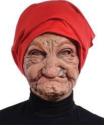 amazon com morris costumes halloween party old nana latex mask