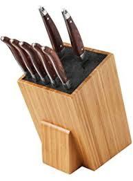 lakeland kitchen knives lakeland bamboo fibre knife scissor block amazon co uk kitchen