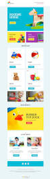 toys for kids ecommerce newsletter template for free freshmail
