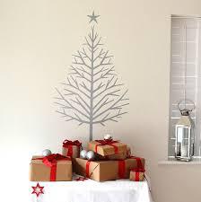Home Decor Tree by Christmas Tree Wall Sticker Home Decor Arrangement Ideas Best