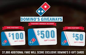 domino s quickly domino s giveaway win free pizza for a year and more
