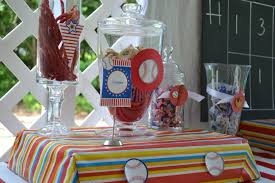 baseball centerpieces the best sports birthdays 15 party ideas tip junkie