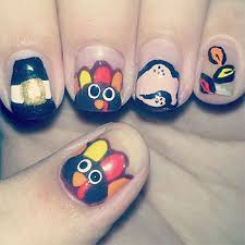 easy thanksgiving nail best nails ideas