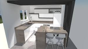 cuisine blanc brillant cuisine cuisine blanc brillant et bois cuisine blanc brillant et